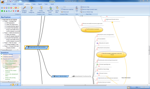 MindGenius Mind Mapping Software
